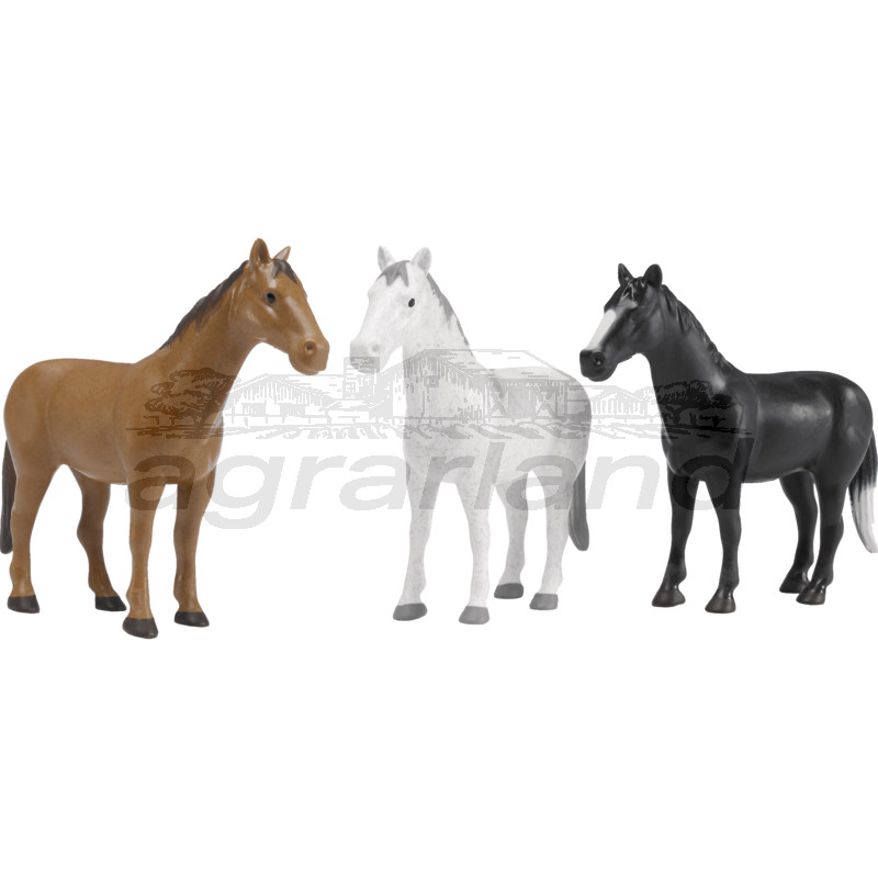 Bruder 1 Pferde in braun, weiß oder schwarz