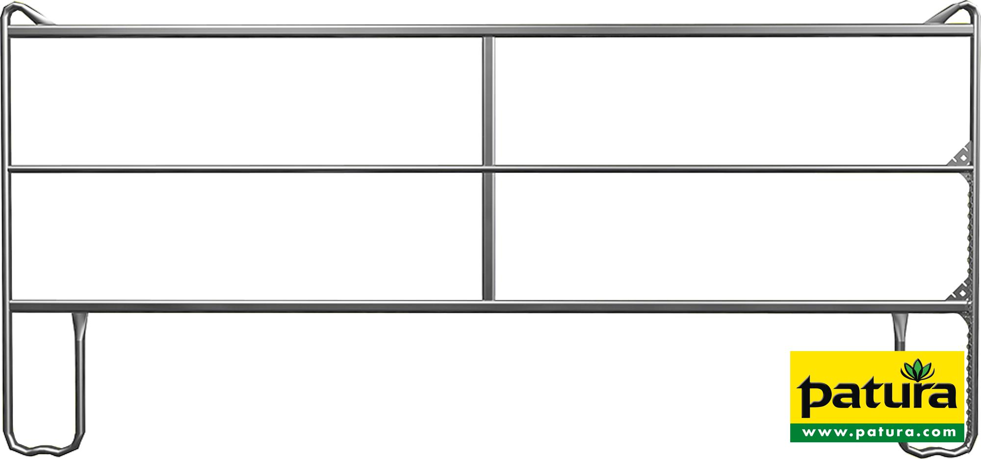 Panel-3, Länge 3,60 m, Höhe 1,70 m
