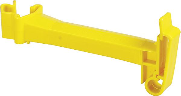 Abstands-Isolator Breitband, gelb für T-Pfosten (20 Stück / Pack)
