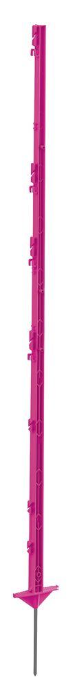 Kunststoffpfahl Classic, 1,56 m, pink, 5 Stück/ Pack