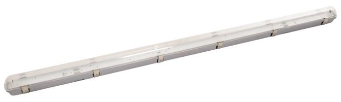 Feuchtraum-Wannenleuchte für LED-Röhren