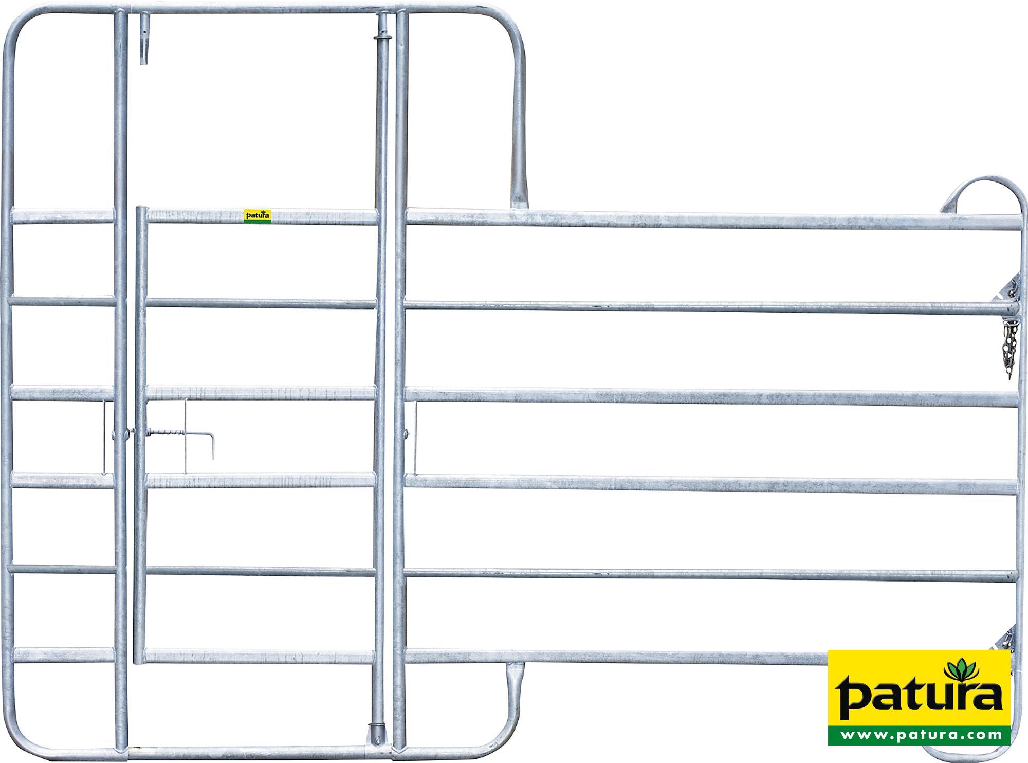 Panel-6 mit Behandlungstür, Länge 3,00 m, Höhe 2,20 m
