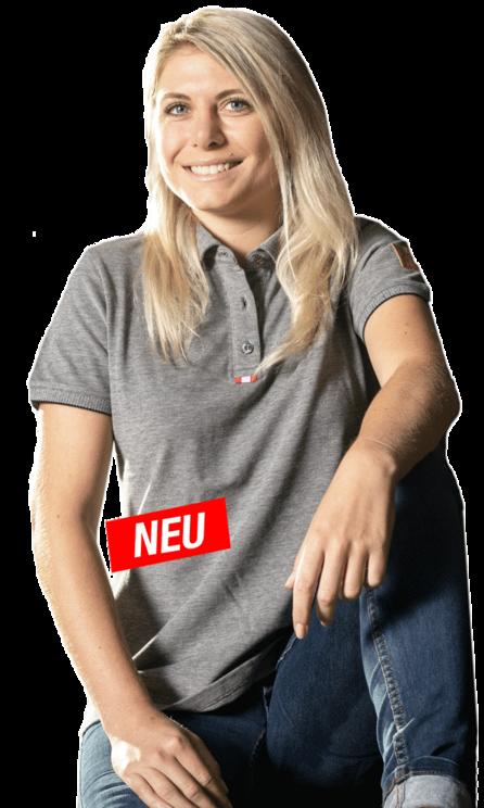"Polo-Shirt Damen ""70 Jahre Lindner"""