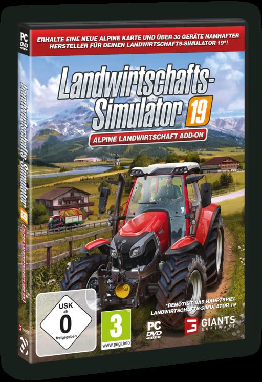 Landwirtschaftssimulator 19 Add On - Alpine Farming