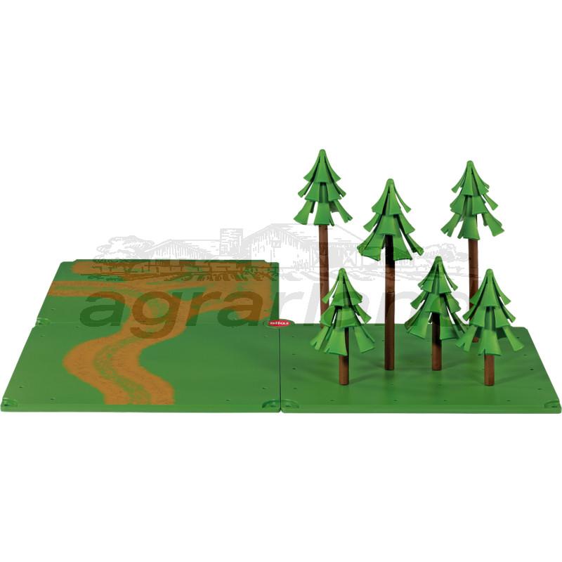 Siku Zubehör, Feldwege und Wald