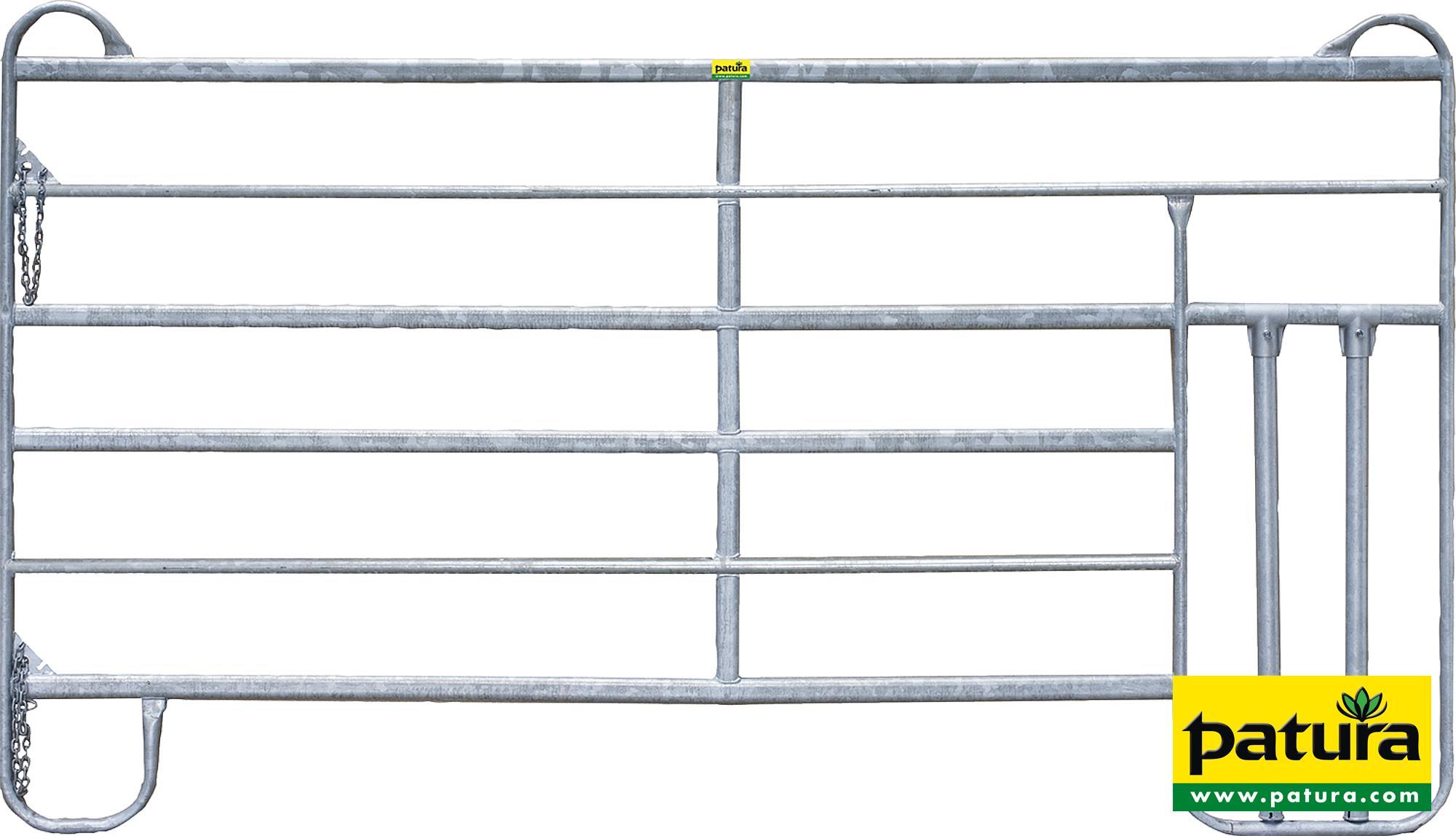 Panel-6 mit Kälberschlupf Länge 3,00 m, Höhe 1,70 m