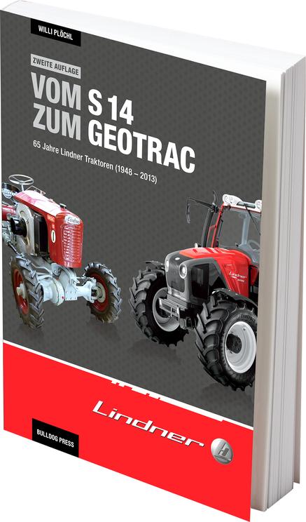 Buch Vom S 14 zum Geotrac - 65 Jahre Lindner Traktoren