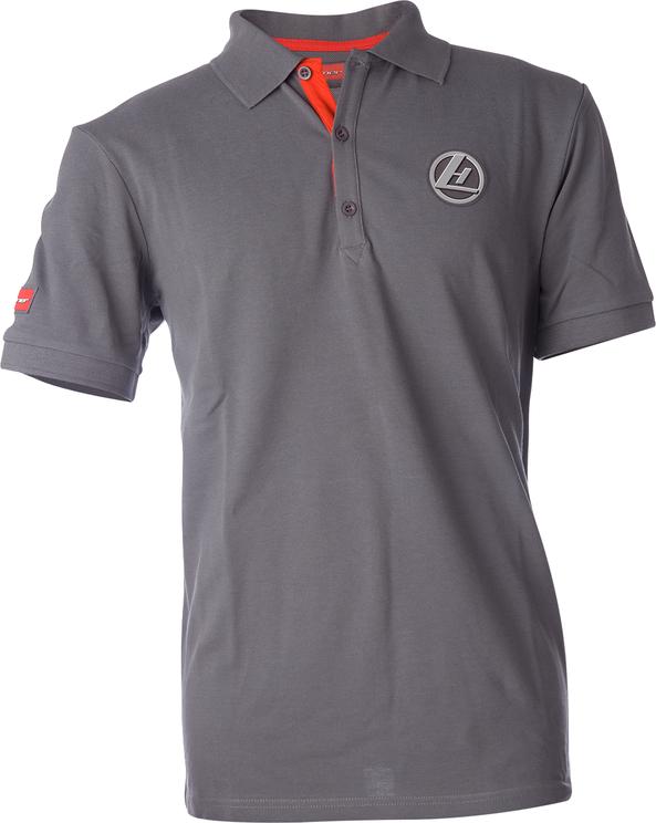 Polo-Shirt grau