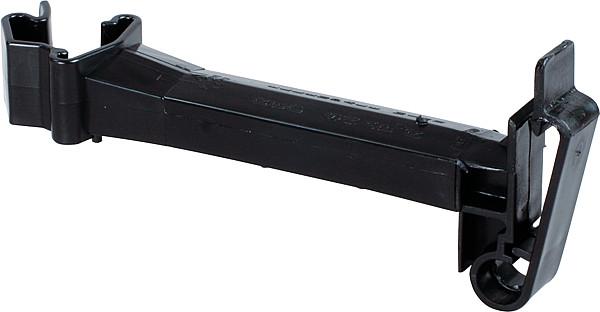Abstands-Isolator Breitband, schwarz für T-Pfosten (20 Stück / Pack)