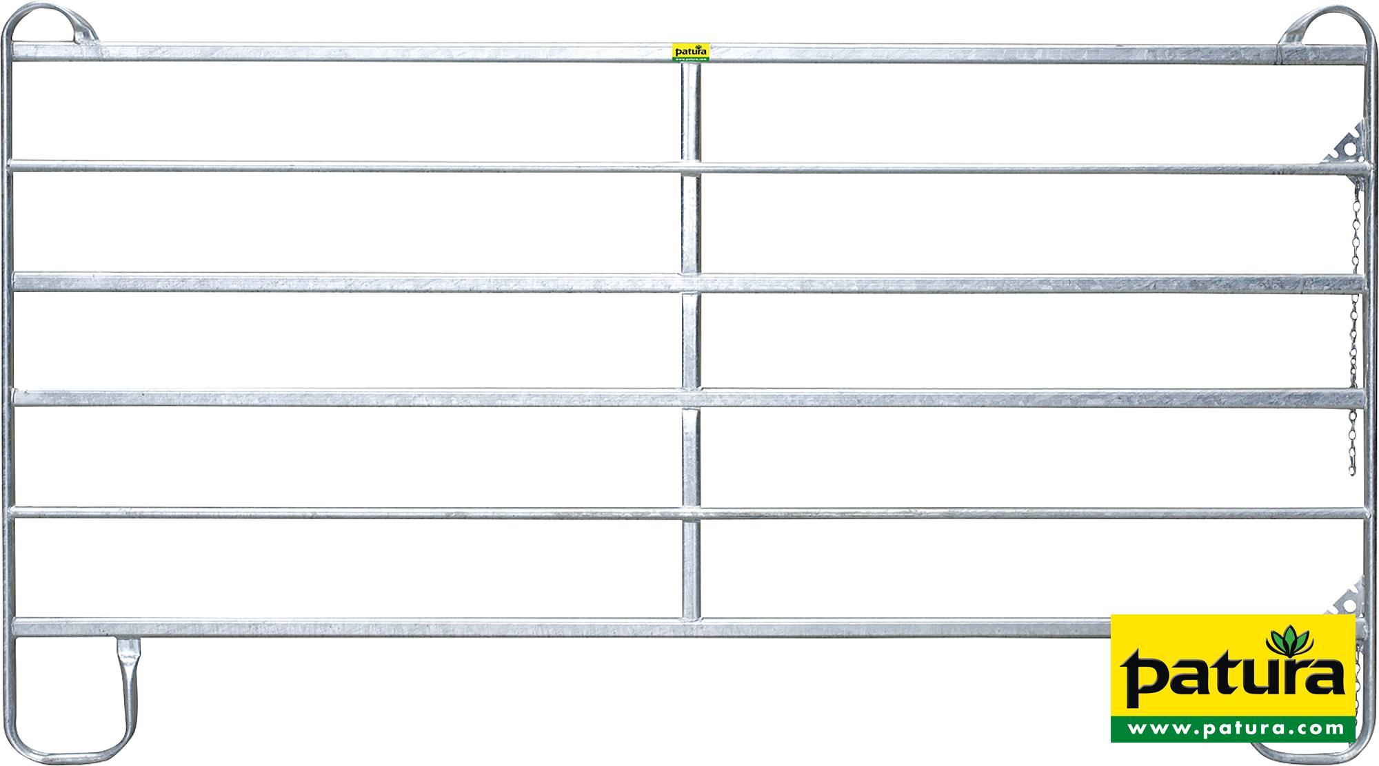 Panel-6, Länge 2,40 m, Höhe 1,70 m (1 Mittelstrebe)