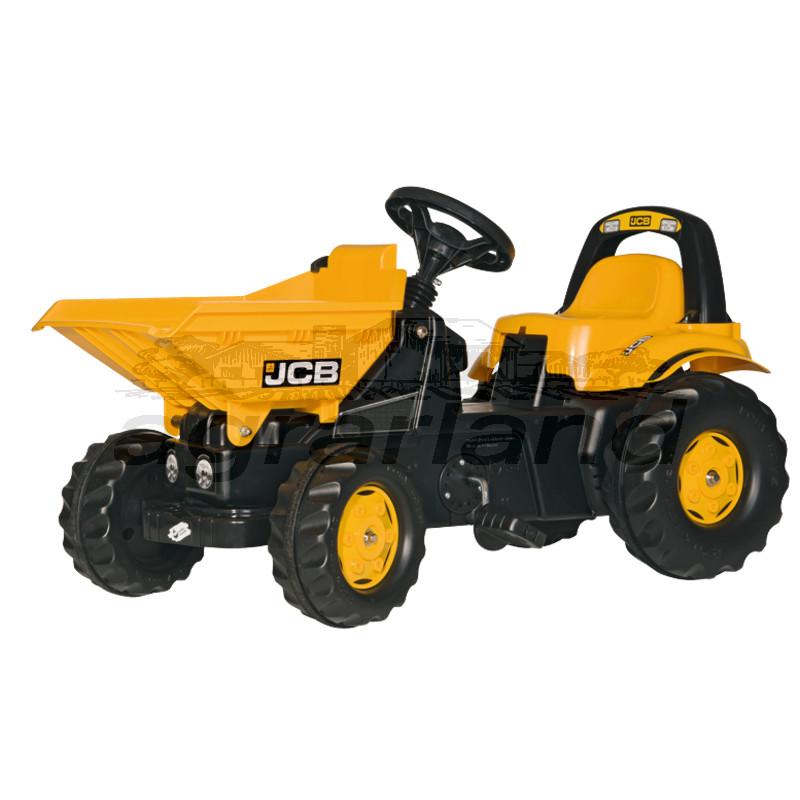 rollyKid JCB Dumper Trettraktor mit Kippmulde Rolly Toys