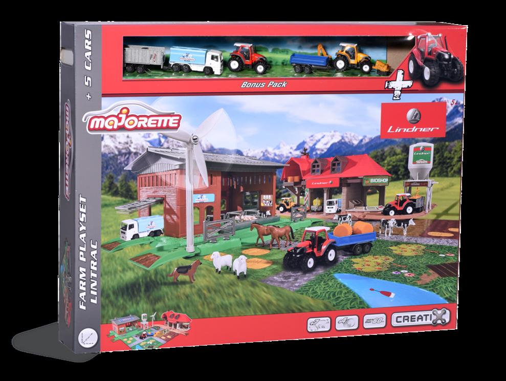 Lintrac-Farm-Set, Spielset groß